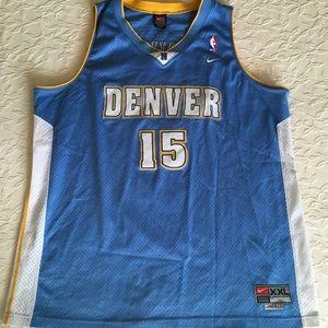 NIKE Denver Nuggets Anthony #15 NBA Jersey  XXL